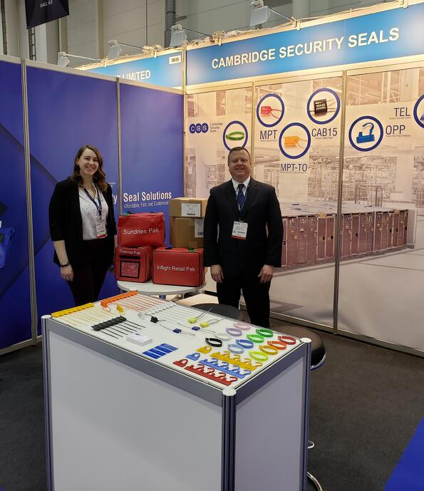 Cambridge Security Seals at WTCE 2019